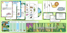* NEW * Childminder EYFS Resource Pack to Support Teaching on Rumble in the Jungle