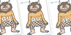 Phase 5 Phonemes on Wild Thing (1) to Support Teaching on Where the Wild Things Are