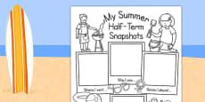 Summer Half Term Holiday Snapshots