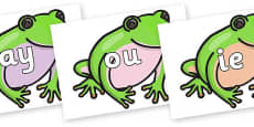 Phase 5 Phonemes on Green Tree Frog