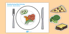 Healthy Eating Meal Activity Romanian Translation