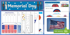 * NEW * Memorial Day Early Childhood Resource Pack