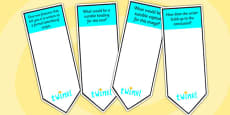 AF4 Guided Reading Question Bookmarks