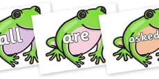 Tricky Words on Green Tree Frog