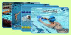 The Olympics Swimming Display Photos