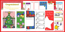 Christmas Gift Certificates and Rewards Resource Pack