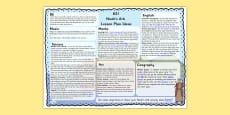 Noah's Ark Lesson Plan Ideas KS1