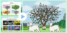 * NEW * KS1 When is Spring? Spring PowerPoint