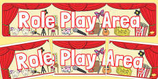 Role Play Display Banner