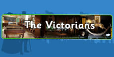The Victorians Photo Display Banner