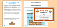 Humpty Dumpty Busy Bag Prompt Card and Resource Pack