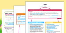 Childminder EYFS Easter Activity Web