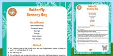 Butterfly Sensory Bag