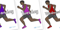 Days of the Week on Runners