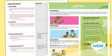 PlanIt - Geography LKS2 - Land Use Planning Overview
