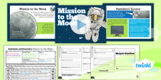 PlanIt - Science Year 5 - Scientists and Inventors Lesson 3: Mission to the Moon Lesson Pack