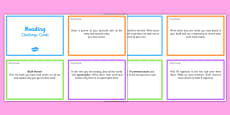 Guided Reading Challenge Cards