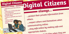 Digital Citizens Poster