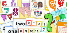 Number and Place Value Display Pack KS1 Year 2