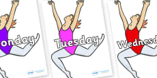 Days of the Week on Ballet Dancers
