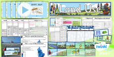 PlanIt - Geography Year 3 - Land Use Unit Pack