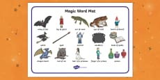 Magic Word Mat