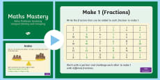 Year 6 Ratio Solve Problems Involving Unequal Sharing and Grouping Maths Mastery Activities PowerPoint