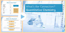 * NEW * Chemical Changes What's the Connection? PowerPoint