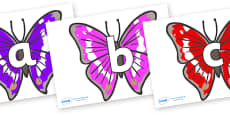 Phoneme Set on Emperor Butterflies