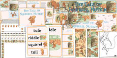 The Tale of Squirrel Nutkin Resource Pack (Beatrix Potter)