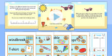 Adding at the Beach Shop Differentiated Lesson Teaching Pack