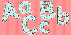 Sebastian Coe Themed A4 Display Lettering