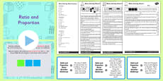 Year 6 Ratio and Proportion Differentiated Lesson Teaching Pack