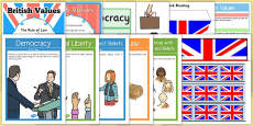 Teaching Assistant British Values Resource Pack