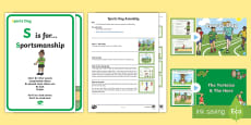 * NEW * KS1 Sports Day Assembly Pack