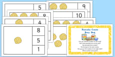 Pancake Count Busy Bag Prompt Card and Resource Pack