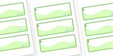 Poplar Tree Themed Editable Drawer-Peg-Name Labels (Colourful)