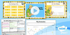PlanIt - D&T KS1 - Our Fabric Faces Lesson 6: Making Our Fabric Faces Lesson Pack