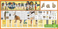 * NEW * The Ancient Egyptians Resource Pack