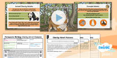 * NEW * PlanIt Y6 Animals: The Tyger Lesson Pack Persuasive Writing 2