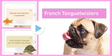 French Tongue Twisters Presentation