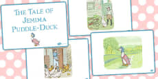 The Tale of Jemima Puddle Duck Story Sequencing (Beatrix Potter)