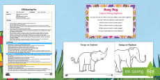 * NEW * EYFS Colour Mixing Elephant Busy Bag Plan and Resource Pack