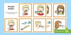 Periajul dinților - Cartonașe