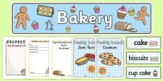 Bakery Role Play Pack
