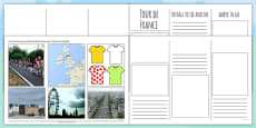Tour de France Brochure Template
