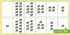 Elephant Counting Number Bonds to 10