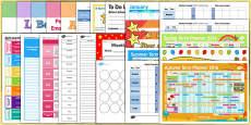 EYFS Class Management Teacher Folder Resource Pack