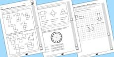 Year 5 Maths Assessment: Geometry Term 1