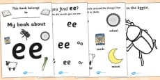My Phase 3 Digraph Workbook (ee)